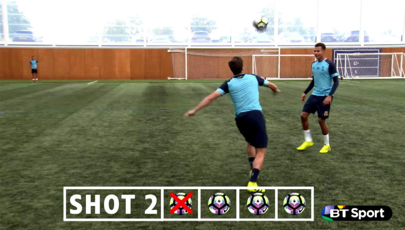 Tottenham Hotspur Goals Recreated Challenge
