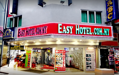 di samping Easy Hotel juga ada ABC Bistro