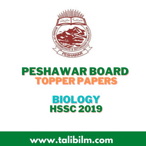 Peshawar Board Topper Papers Biology HSSC
