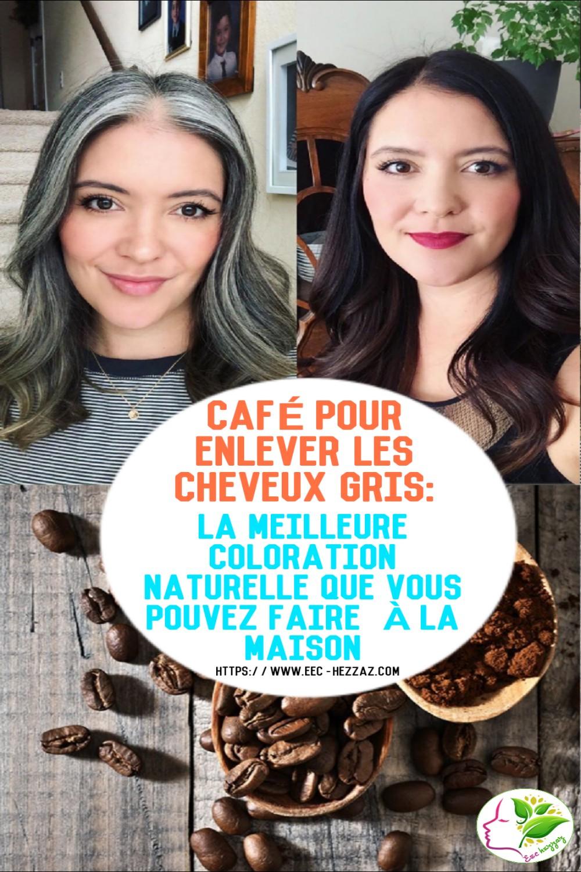 Café pour enlever les cheveux gris: la meilleure coloration naturelle que vous pouvez faire à la maison