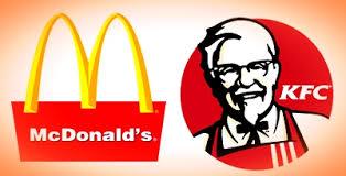 KFC and McDonald's