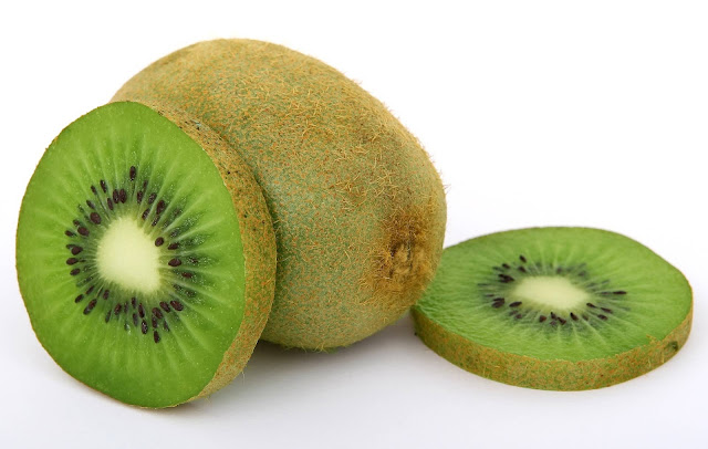 Free food stock photos and high quality images - Kiwi on White Background.