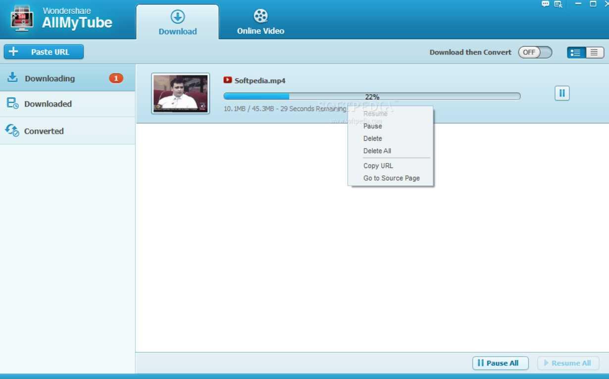 Wondershare AllMyTube 7.4.8.0