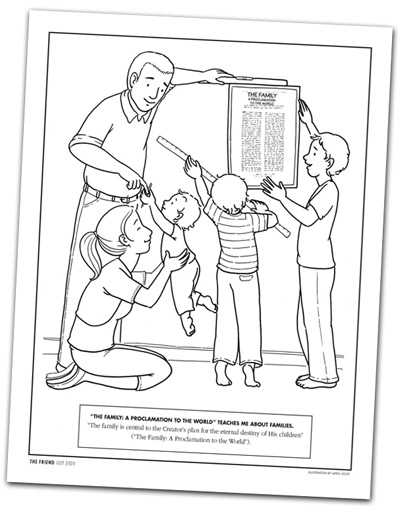 Lds Coloring Pages Forgiveness. 2  For Older Kids Proclamation Word Search from The Friend magazine A Year of FHE 01 Lesson 14 to the World