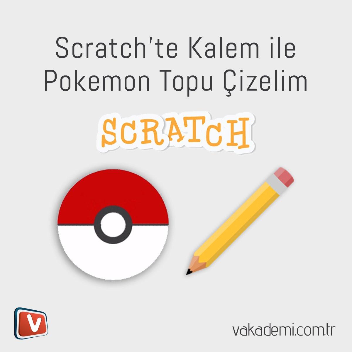Scratch ile Pokemon Topu
