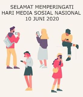 ucapan hari media sosial nasional 10 juni 2020- whatsapp