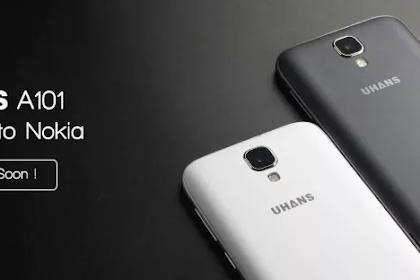 Nokia Memperalihatkan Smartphone TerbaruNya Yaitu Nokia UHANS A101