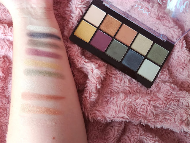Les palettes Perfect Filter de NYX (+ Dupe Naked Heat Urban Decay) Olive you