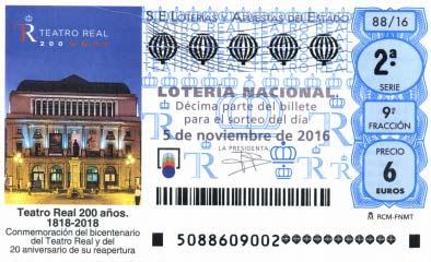 Loteria Nacional del sabado 5 de noviembre de 2016