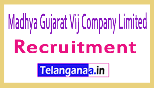 Madhya Gujarat Vij Company Limited MGVCL Recruitment Notification