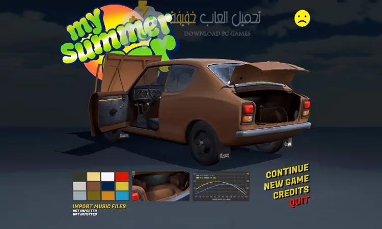 تحميل لعبة سيارة الصيف My Summer Car للكمبيوتر