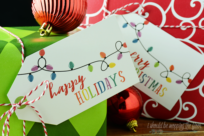 Gifts for Everyone with Free Printable Gift Tags