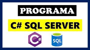 Aplicacion en C# y Sql Server