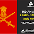 Indian Army Religious Teacher Vacancies : Apply Now
