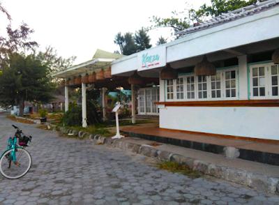 Kenza Gili Air, salah satu properti yang kosong di Gili Air :(