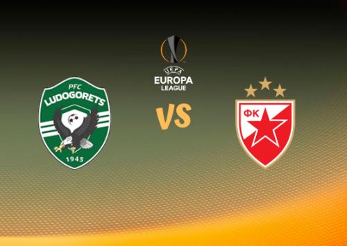 Ludogorets vs Estrella Roja Belgrado  Resumen