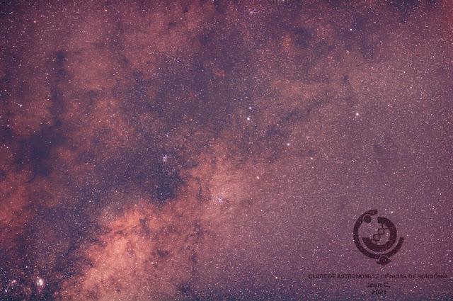 Foto Jean Carlos Via Láctea - clube de astronomia e ciências de rondônia