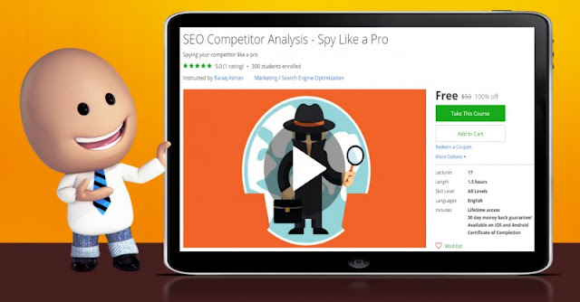 [100% Off] SEO Competitor Analysis - Spy Like a Pro| Worth 50$