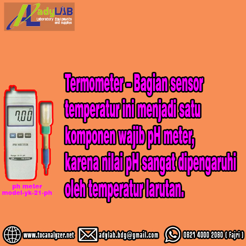 0821 4000 2080 Jual pH Meter Bandung Supplier pH Meter Murah Di Ady Water