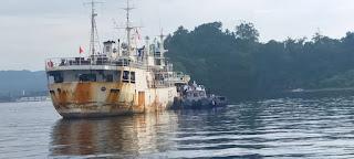 157 ABK WNI Kerja di  Kapal RRT Jalani Repatriasi Melalui Pelabuhan Bitung