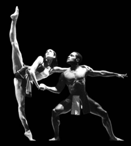 pareja danza contemporánea