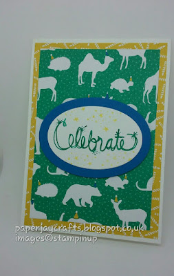 Paperjay Crafts, Party Animals DSP, Love Sparkles Stamp Set, Stampin Up