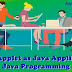 Unit II: Applet as Java Applications – Java Programming