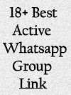 18+ Best Active Whatsapp Group Link