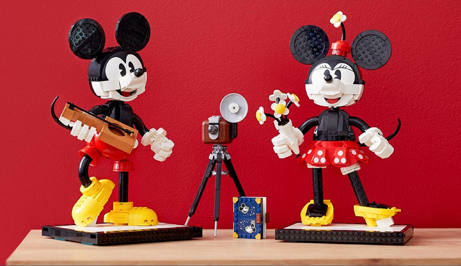 43179 ミッキーマウスとミニーマウス