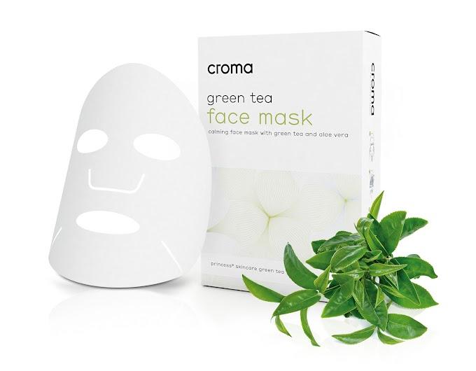 Mascarilla facial de té verde de Croma: una cura exprés para nuestra piel