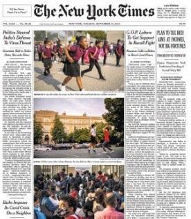 The New York Times Magazine 14 September 2021