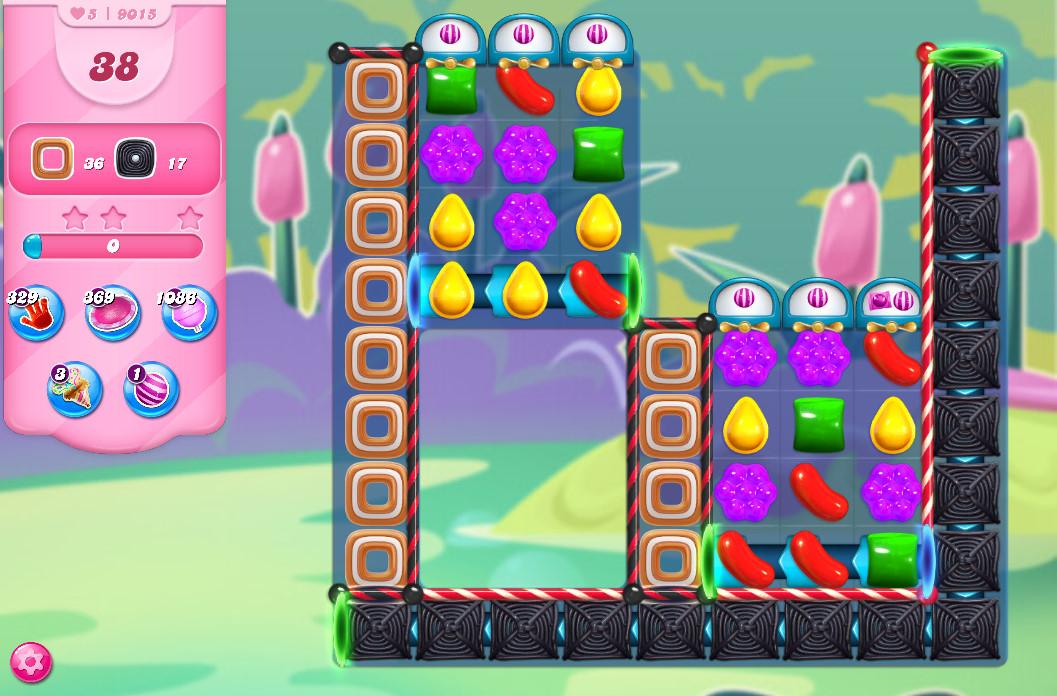 Candy Crush Saga level 9015