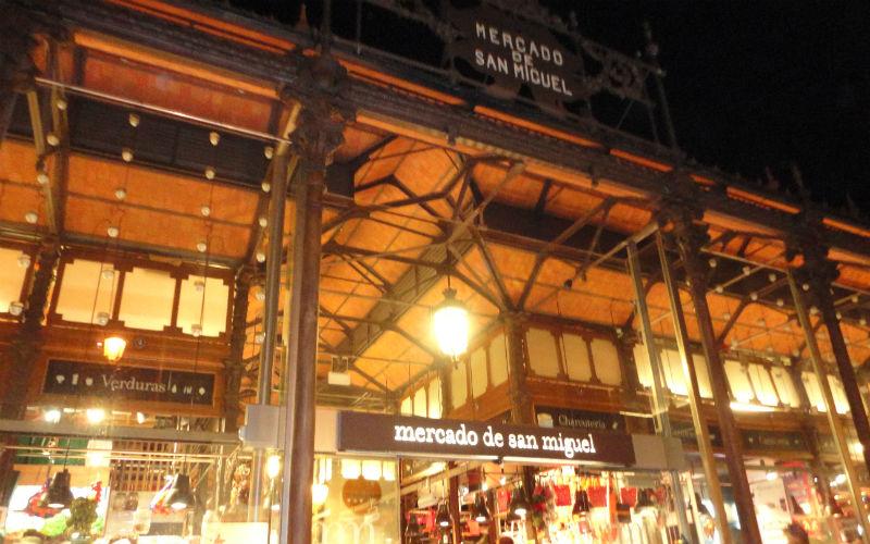 Mercado de San Miguel de Madrid: la fachada