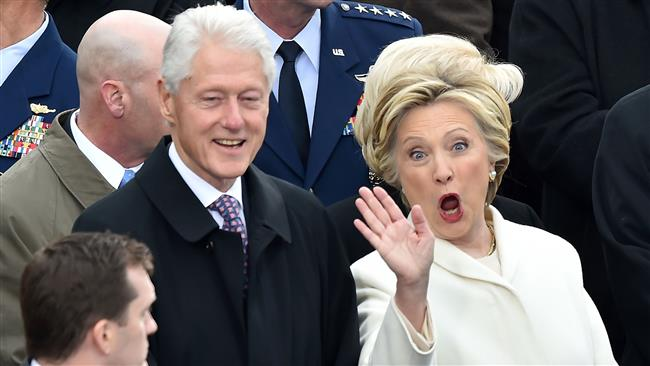 Hillary, Bill Clinton 'colluded' with Russia: White House