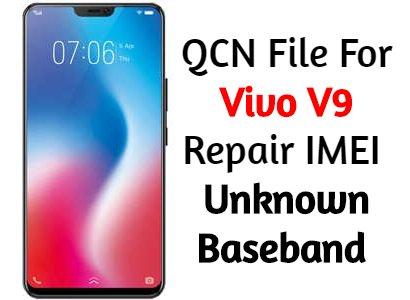 VIVO V9 PD1730F Original IMEI REPAIR FILE Stock Firmware - QPST Flash Method