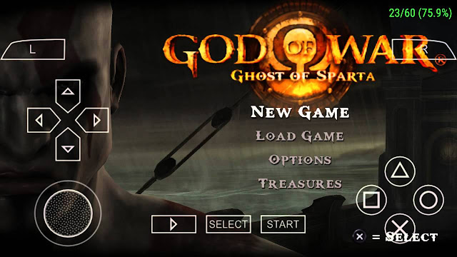 Download God Of War Ghost Of Sparta PPSSPP ISO High Compress