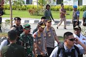 Panglima TNI dan Kapolri Hadiri Acara Bakti Sosial di PLBN Skouw Papua