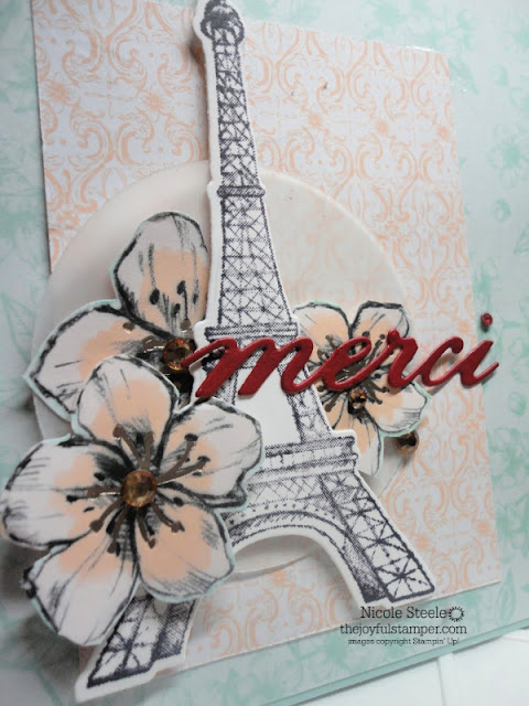 Parisian Beauty case of card in Stampin' Up! 2020 Mini Catalog by Nicole Steele The Joyful Stamper