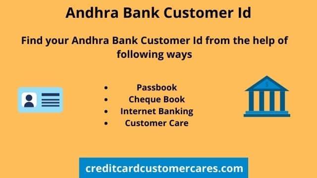 Andhra Bank Customer Id