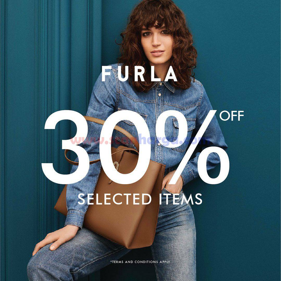FURLA Promo Discount 30% Off on selected items