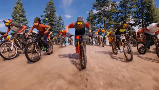 Testing of the game of mass racing - Riders Republic, is about to start