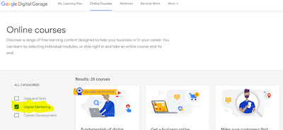 Free Digital Marketing course with Google Certificate