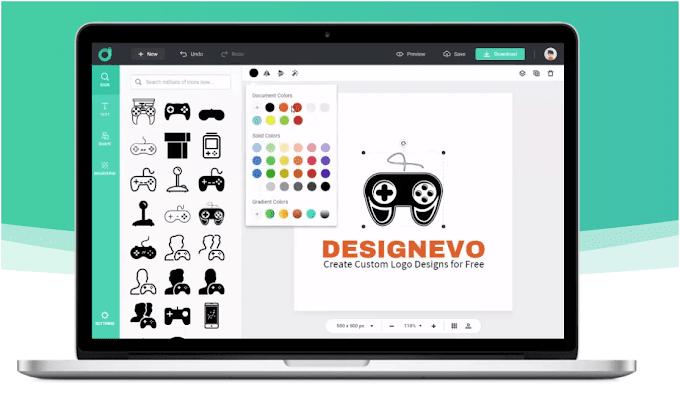 DesignEvo Review: How to Make a Cool Logo Online