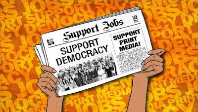 Παγκόσμια εκστρατεία για τα έντυπα ΜΜΕ