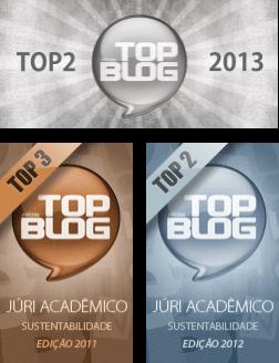 Prêmio TopBlog - Sustentabilidade