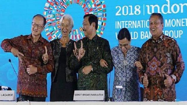 Koreksi Jari Bos IMF, Luhut Pandjaitan Akan Dilaporkan ke Bawaslu