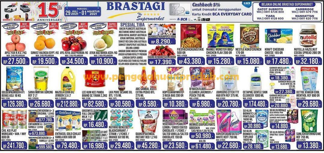 Katalog Promo Brastagi Supermarket Periode 29 Juli - 1 Agustus 2021