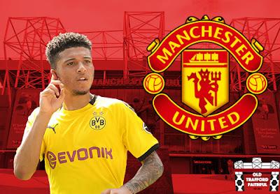 Jadon Sancho đồng ý về Man Utd
