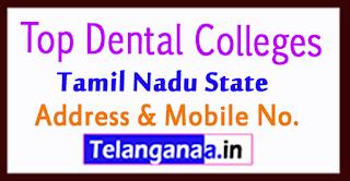 Top Dental Colleges in Tamil Nadu