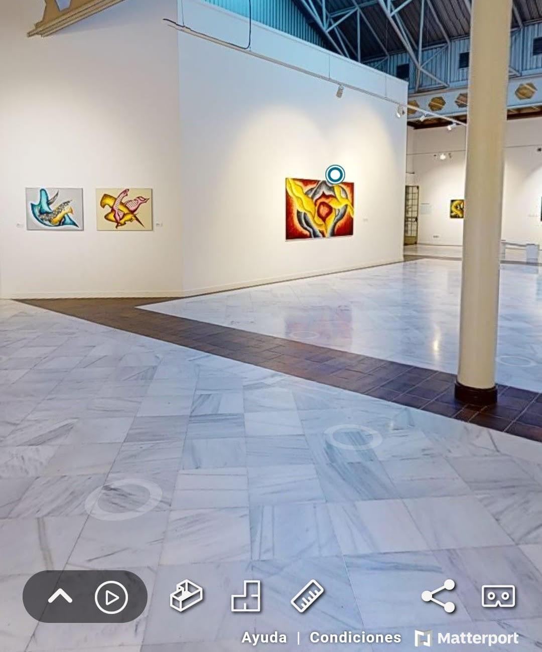 La Mirada Actual Visita Virtual De La Exposición Buscando Lo Sublime De Adriana Zapisek En Casa De Vacas Madrid Durante Octubre 2020